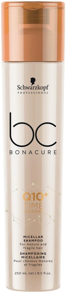 Schwarzkopf BC Q10+ Time Restore Micellar Shampoo - 250 ml