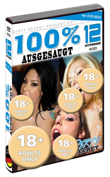 """""""12H 100% Ausgesaugt"""", 4 DVDs"""